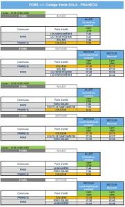 horaires car 2020-2021 collège
