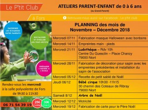 planning ptit club nov dec