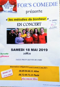 SPECTACLE FORS 18.05.19