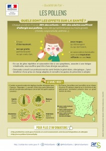 Infographie pollens