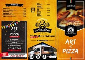 Carte art&pizza